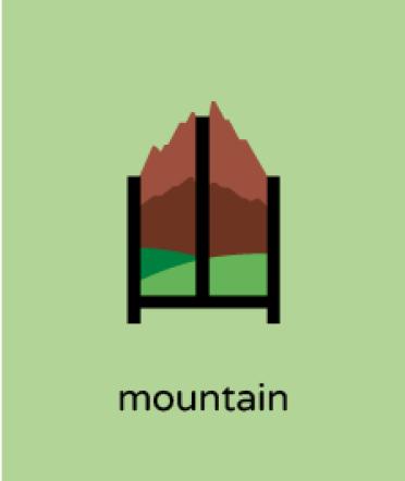ideogramma montagna