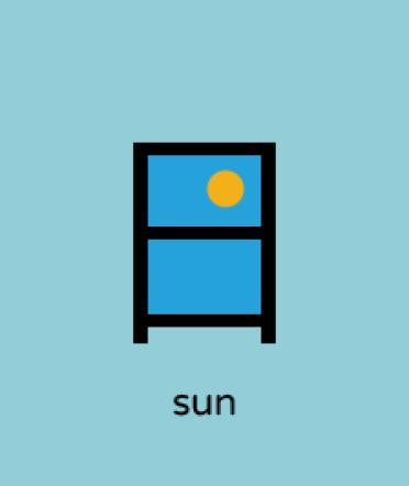 ideogramma sole