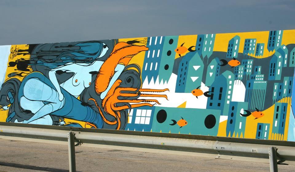 vedo a colori graffiti