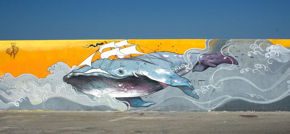 balena streetart