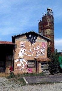 Mr Fijodor Sagra street art