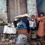 immagine di povertà a Calcutta