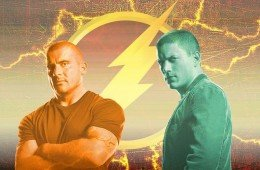 Miller e Purcell in the flash la serie tv