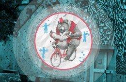 Artisti sulla strada di Natale, giocoleria a Luzzati Genova