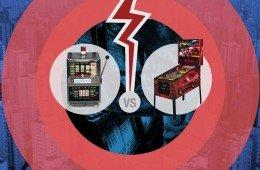 Slot machine vs Flipper