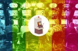 giocatori d'azzardo, slot machine
