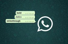 grassetto su whatsapp