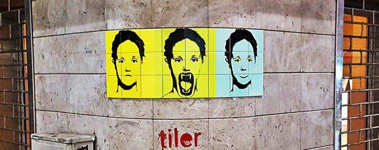 tiler artista di strada